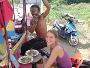 friends and motorbikes, Thailand