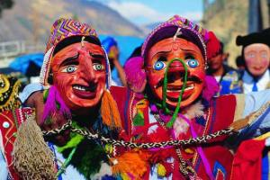 MASKS at the Festival of the Sun, Peru