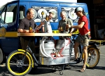 beer bike cart, Portland Oregon
