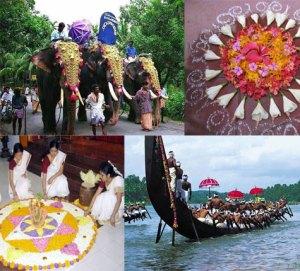 Onam Celebration, Kerala, India