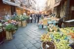 Street Market Catania Italy