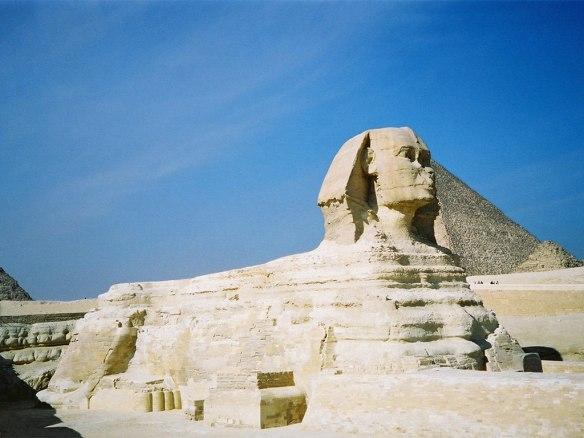 The Sphinx Giza, Cairo Egypt