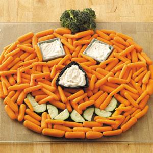 Healthy Halloween Platter
