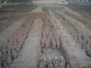 Terra Cotta Warriors, Xian China