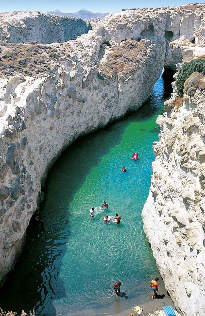 Island of Milos, Greece