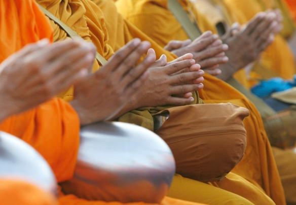 Thai Buddhist Prayer