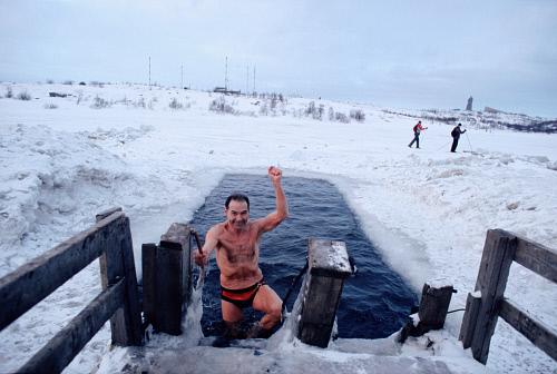 Ice Swimming Russia