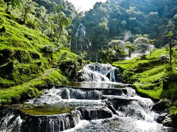 Colombia, Coffee Region,  Santa Rosa Thermal Springs