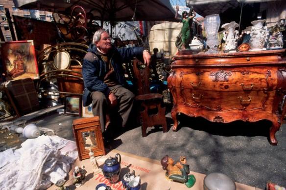 Flea Market in Porta Portese, Rome
