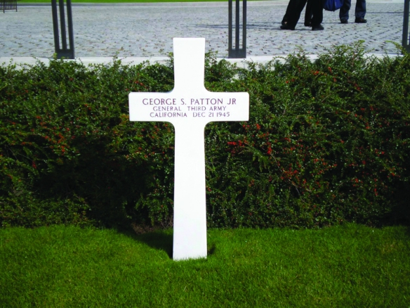 George Patton gravesite, Luxembourg American Cemetery Credit: Image Tours Inc.
