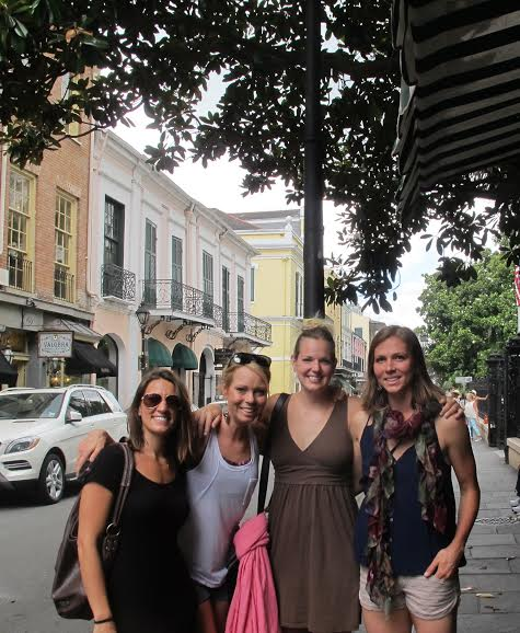 Walking the historic French Quarter