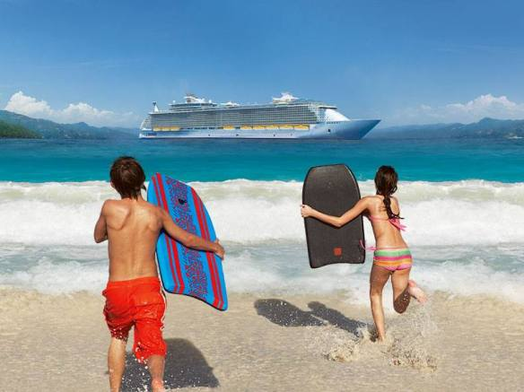 Fun in the Sun with Royal Caribbean Cruise line!